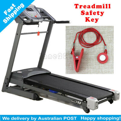 Running Machine Safety Safe Key Treadmill Magnetic Security Switch Lock New