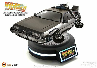 Kidslogic 20CM  Magnetic Floating DeLorean Time Machine Back To The Future New