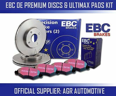 EBC REAR DISCS AND PADS 264mm FOR VAUXHALL CORSA 1.6 TURBO 150 BHP 2007-14