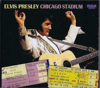 Elvis Presley CHICAGO STADIUM - FTD 96 New / Sealed CD