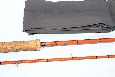 """10'-0"""" Hardy the  """"Pope classic Dry-Fly fishing rod, 2 piece with 2 top"""