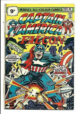 Captain America # 197 (Kirby Art, May 1976), Fn/vf