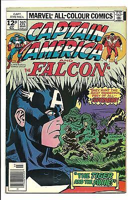 Captain America # 207 (Kirby Art, Mar 1977), Fn