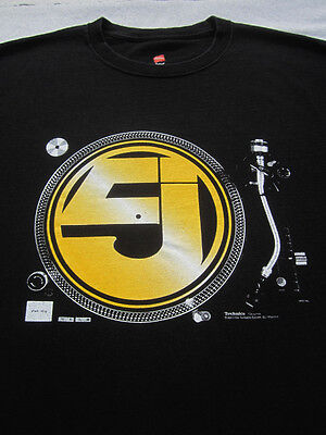 JURASSIC 5 word of mouth tour LARGE concert T-SHIRT
