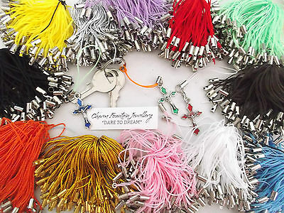 Jewellery Wholesale Finding Supply Phone Cord Strap Lanyard For Charm Etc (Pc)