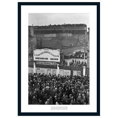 Stamford Bridge Stadium 1945 Chelsea FC Historic Photo Memorabilia (963)