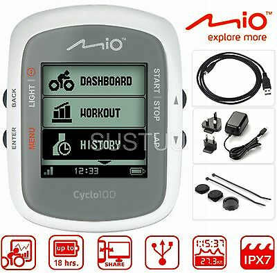 Mio Cyclo 100 Cycle GPS Computer MTB Bike Performance Partner Navigation System