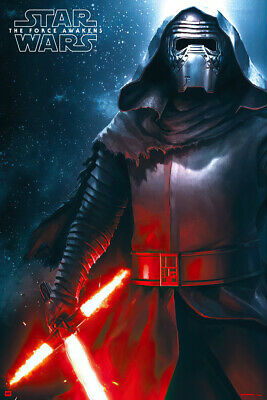 Star Wars: Episode Vii - The Force Awakens - Movie Poster / Print (Kylo Ren 3)