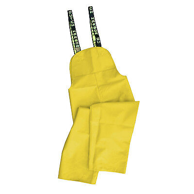 Dutch Harbor Gear HD202-YEL-M Quinault Medium Yellow Rain Pants