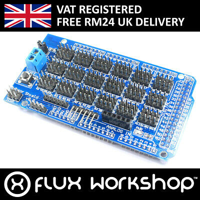 Sensor Shield Arduino MEGA 2560 Flux Workshop