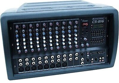 OMNITRONIC CS-816 Power-Mixer