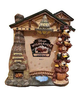 Disney Parks Photo Frame Wilderness Lodge Arch Mickey and Friends New