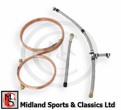 Bek096 - Mgb Original Fuel Pipe Kit Hs4 - Ahh6707K, Ahh6703, Ahh6995, Ahh737