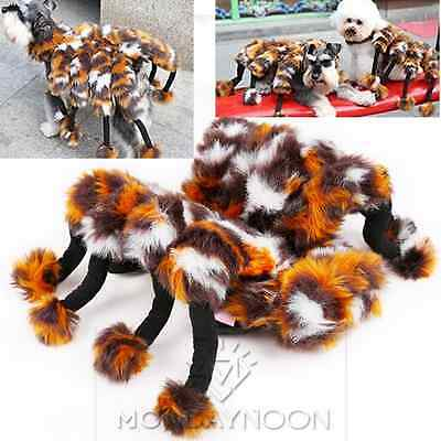 Puppy Clothing Dog Costumes Christmas outfit Fuzzy Spider Pet Costumes Sweaters