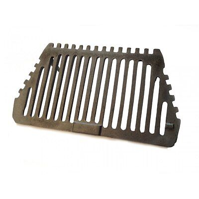 "New Regal Cast Iron Bottom Fire Grate 16"" 2 Legs"