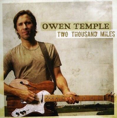 Owen Temple - Two Thousand Miles [New CD]