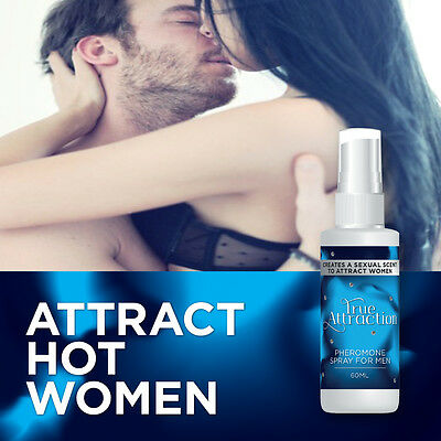 True Attraction Pheromone Spray For Men – Attract Hot Lady Cologne