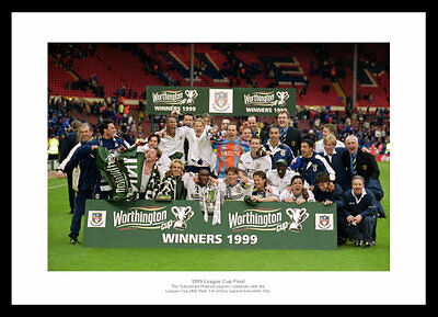 Tottenham Hotspur 1999 League Cup Final Winning Team Photo (520)