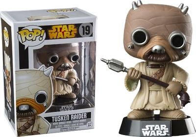 Pop! Star Wars: Tusken Raider - Stylized Vinyl Bobble-Head Scavenger #19 New