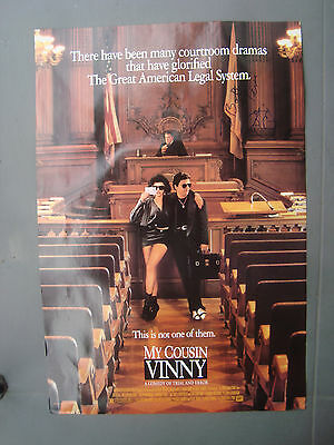 My Cousin Vinnie 1 sheet Poster Signed Joe Pesci