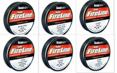 FireLine Braided Bead Thread - one of the strongest threads on the market.