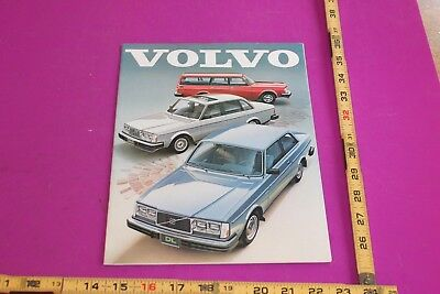 1981 Volvo Brochure. 22 pgs. See pics for condition.