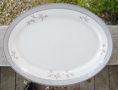 """SYRACUSE """"Harmony"""" 14"""" Oval Serving Platter..EXCELLENT Condition..FREE Shipping!"""