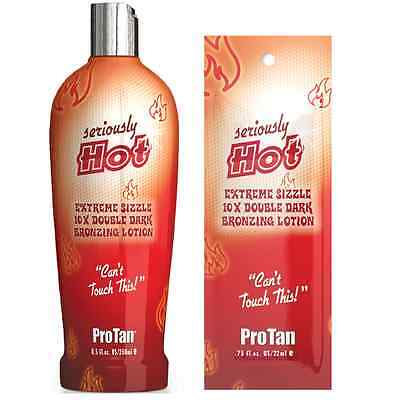 Pro Tan ProTan Seriously Hot Sunbed Tanning Cream, Lotion, Bottles & Sachets