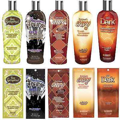 Synergy Tan Downtown Brown Collection Sunbed Tanning Accelerator Lotion, Cream