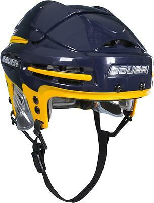 New Bauer 9900  Royal/yellow  Helmet Size L