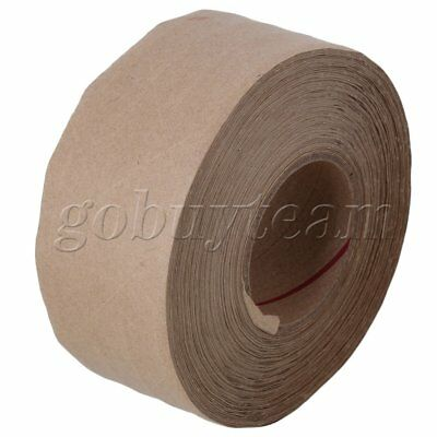 Economy Grade Reinforced Kraft Gum Paper Sealing Tape 50m x 48mm Water Activated