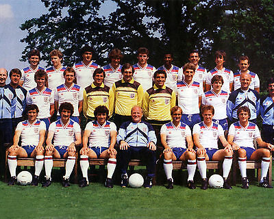 England 1982 Squad In Classic Admiral Kit 01 Photo Print 01