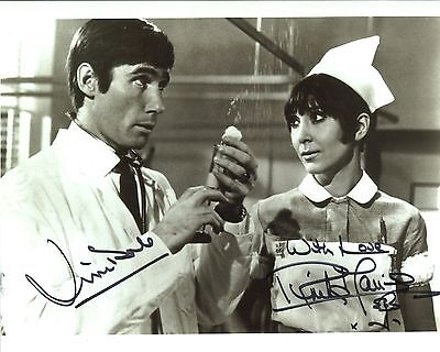 Carry On Doctor photo signed Jim Dale & Anita Harris - UACC DEALER