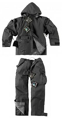 HELIKON TEX ECWCS Outdoor Cold Wet Weather Hose Jacke Black Schwarz M Medium