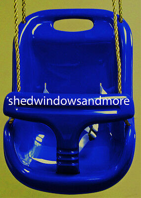 Infant Toddler Swing Blue with Rope