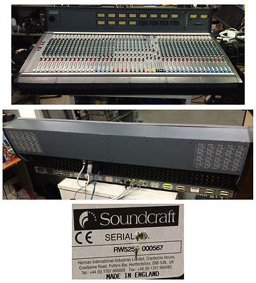 Soundcraft B800 48 Channel Console