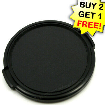 55mm snap on Front Lens Cap protector Cover for camera  Canon Nikon Sony -e153