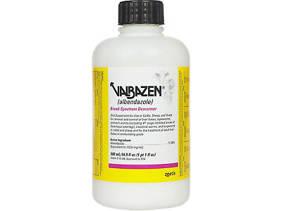 Zoetis Animal Health Valbazen Drench 500 ml