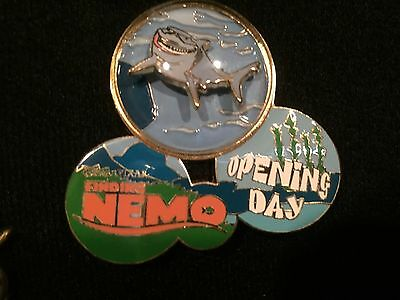Disney Finding Nemo Opening Day Bruce Pin