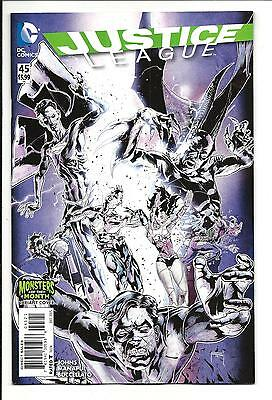 JUSTICE LEAGUE # 45 (MONSTERS of the MONTH VARIANT COVER, DEC 2015), NM/M NEW