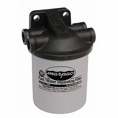 "Marpac Fuel/Water Separator Filter Kit w/Composite Head,3/8"" FF010010 Marine MD"