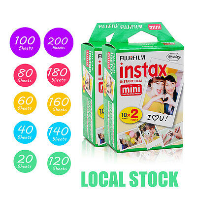 Fujifilm Instax Mini Film Fuji instant photos for 7s 8 90 Polaroid 300