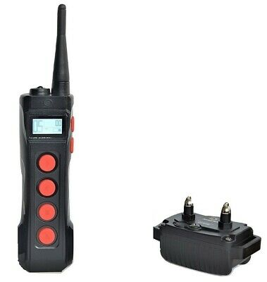 Waterproof 1100 Yard Remote Dog Training Shock Collar Trainer  w/ Auto Anti Bark