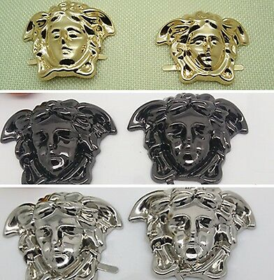 Medusa buckles DIY handmade for shoe bags clothes ornament accessories multi use