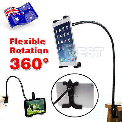 360° Rotating Lazy Bed Desk Stand Mount For iPad Holder 2 3 4 Air Mini Tablet