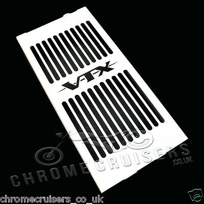 Honda Vtx1300 Retro Custom 02-08 New Stainless Steel Radiator Cover Guard Grill