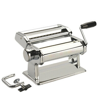 New Avanti Stainless Steel Pasta Making S/s Machine Adjustable 180Mm 12298 Save!