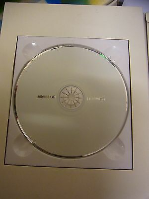 ULTRARARE Vintage Brian Eno Limited Edition CD War Child ANTENNAE #1 Hirst Bowie