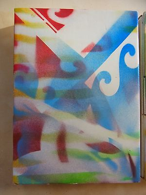 ULTRARARE Vintage Brian Eno Unique Painting War Child ANTENNAE #1 Hirst Bowie #3
