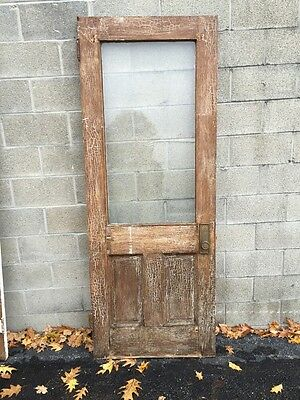 Pd 5 Antique Entrance Door Crackle Paint Century Home